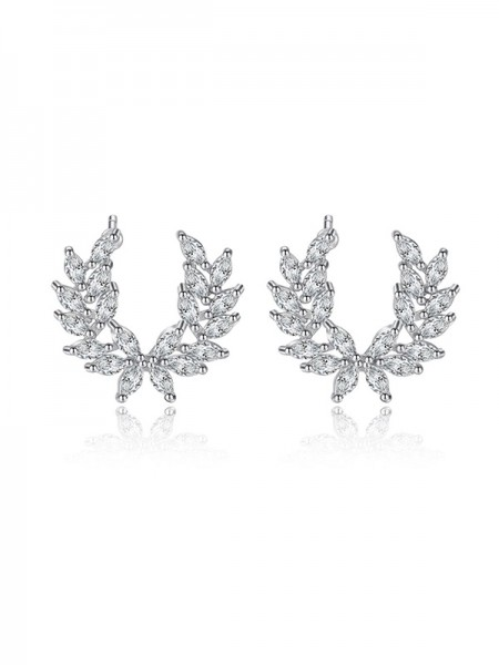 Siste Design Korean Cubic Zirconia Hot Sale Øredobber